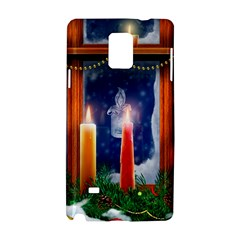 Christmas Lighting Candles Samsung Galaxy Note 4 Hardshell Case