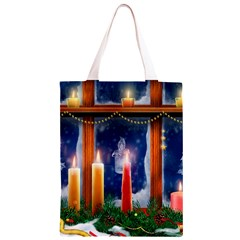 Christmas Lighting Candles Classic Light Tote Bag