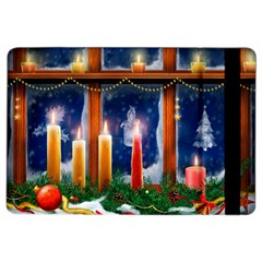 Christmas Lighting Candles iPad Air 2 Flip