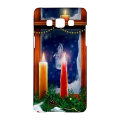 Christmas Lighting Candles Samsung Galaxy A5 Hardshell Case
