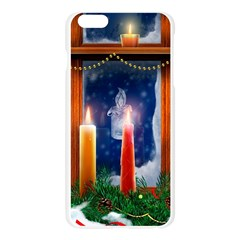 Christmas Lighting Candles Apple Seamless iPhone 6 Plus/6S Plus Case (Transparent)