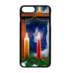 Christmas Lighting Candles Apple iPhone 7 Plus Seamless Case (Black)