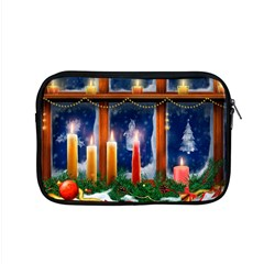 Christmas Lighting Candles Apple MacBook Pro 15  Zipper Case