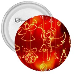 Christmas Widescreen Decoration 3  Buttons