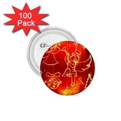 Christmas Widescreen Decoration 1.75  Buttons (100 pack)