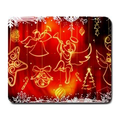 Christmas Widescreen Decoration Large Mousepads