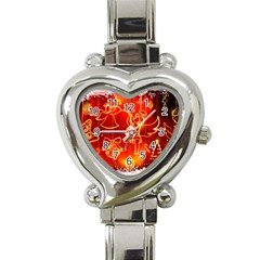 Christmas Widescreen Decoration Heart Italian Charm Watch
