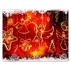 Christmas Widescreen Decoration Rectangular Jigsaw Puzzl