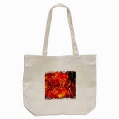 Christmas Widescreen Decoration Tote Bag (Cream)