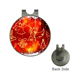 Christmas Widescreen Decoration Hat Clips with Golf Markers