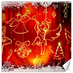 Christmas Widescreen Decoration Canvas 12  x 12