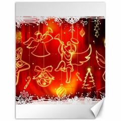 Christmas Widescreen Decoration Canvas 12  x 16