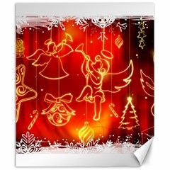 Christmas Widescreen Decoration Canvas 20  x 24