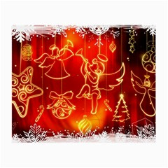 Christmas Widescreen Decoration Small Glasses Cloth (2-Side)