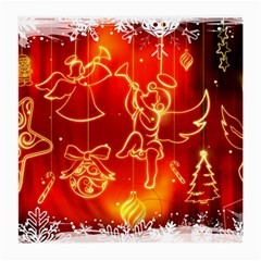 Christmas Widescreen Decoration Medium Glasses Cloth