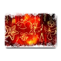 Christmas Widescreen Decoration Small Doormat