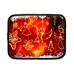 Christmas Widescreen Decoration Netbook Case (Small)