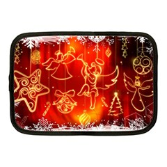 Christmas Widescreen Decoration Netbook Case (Medium)
