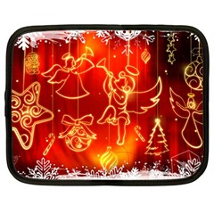 Christmas Widescreen Decoration Netbook Case (Large)