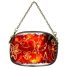 Christmas Widescreen Decoration Chain Purses (One Side)