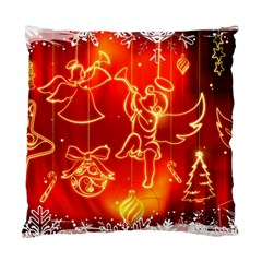 Christmas Widescreen Decoration Standard Cushion Case (One Side)