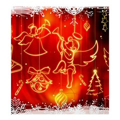 Christmas Widescreen Decoration Shower Curtain 66  x 72  (Large)