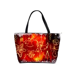 Christmas Widescreen Decoration Shoulder Handbags