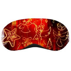 Christmas Widescreen Decoration Sleeping Masks