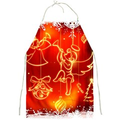 Christmas Widescreen Decoration Full Print Aprons