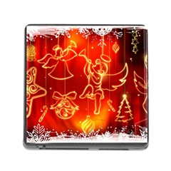 Christmas Widescreen Decoration Memory Card Reader (Square)