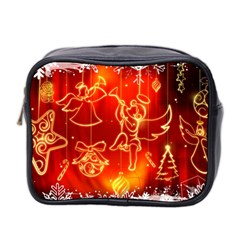 Christmas Widescreen Decoration Mini Toiletries Bag 2-Side