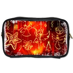 Christmas Widescreen Decoration Toiletries Bags
