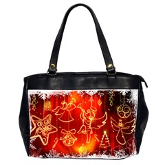Christmas Widescreen Decoration Office Handbags (2 Sides)