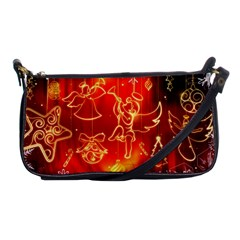 Christmas Widescreen Decoration Shoulder Clutch Bags