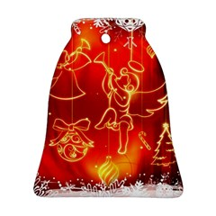 Christmas Widescreen Decoration Ornament (Bell)