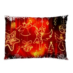 Christmas Widescreen Decoration Pillow Case (Two Sides)