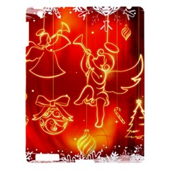 Christmas Widescreen Decoration Apple iPad 3/4 Hardshell Case