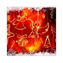 Christmas Widescreen Decoration Acrylic Tangram Puzzle (6  x 6 )