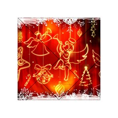 Christmas Widescreen Decoration Acrylic Tangram Puzzle (4  x 4 )