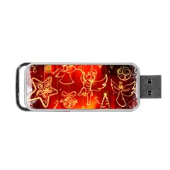 Christmas Widescreen Decoration Portable USB Flash (Two Sides)