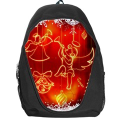 Christmas Widescreen Decoration Backpack Bag