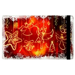 Christmas Widescreen Decoration Apple iPad 2 Flip Case
