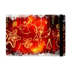 Christmas Widescreen Decoration Apple iPad Mini Flip Case
