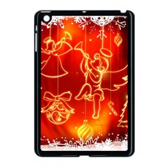 Christmas Widescreen Decoration Apple iPad Mini Case (Black)