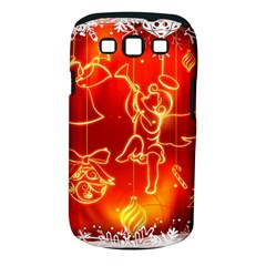 Christmas Widescreen Decoration Samsung Galaxy S III Classic Hardshell Case (PC+Silicone)