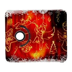 Christmas Widescreen Decoration Galaxy S3 (Flip/Folio)