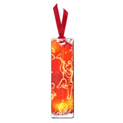 Christmas Widescreen Decoration Small Book Marks