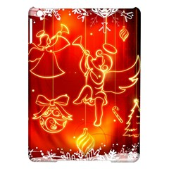 Christmas Widescreen Decoration iPad Air Hardshell Cases