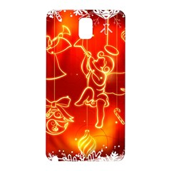 Christmas Widescreen Decoration Samsung Galaxy Note 3 N9005 Hardshell Back Case