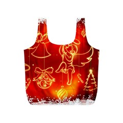 Christmas Widescreen Decoration Full Print Recycle Bags (S)